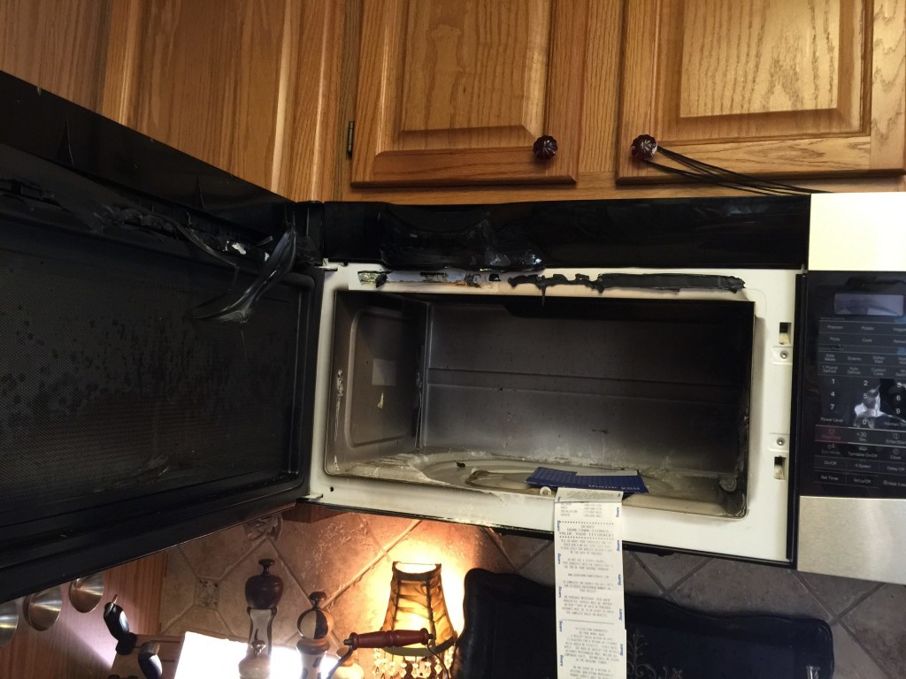 Failing to maintain appliances