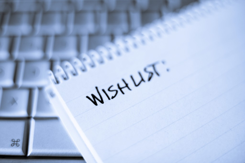 Make a Wishlist