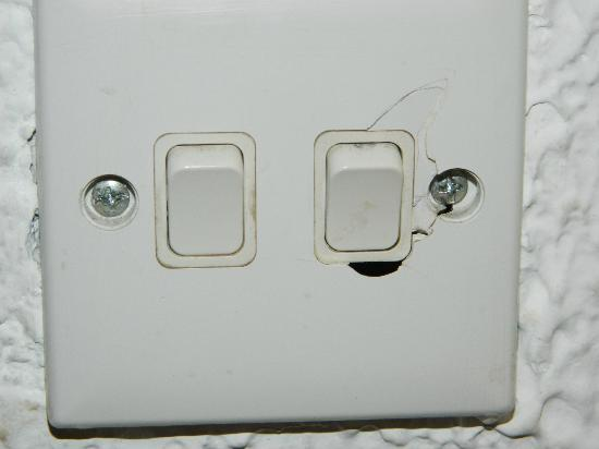 faulty light switch
