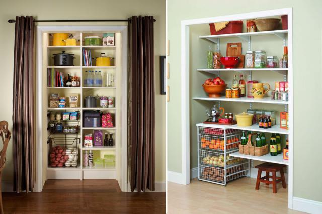 Great Create Kitchen Storage In A Nearby Room