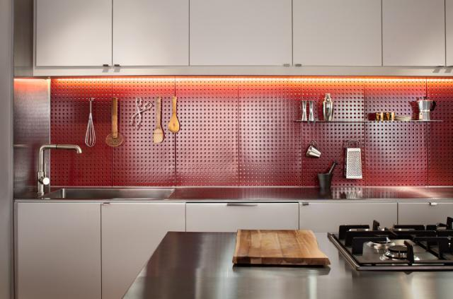 Double Duty Kitchen Backsplash