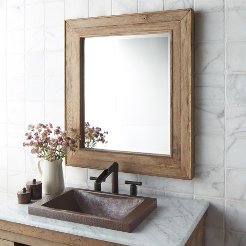 Frame Your Bathroom Mirror: 8 Ways To Prettify Bathroom Without Repacking