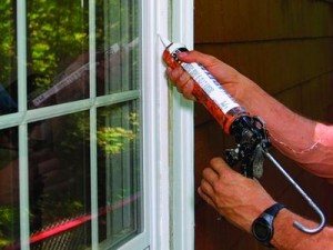 Seal up any gaps in the windows of your room