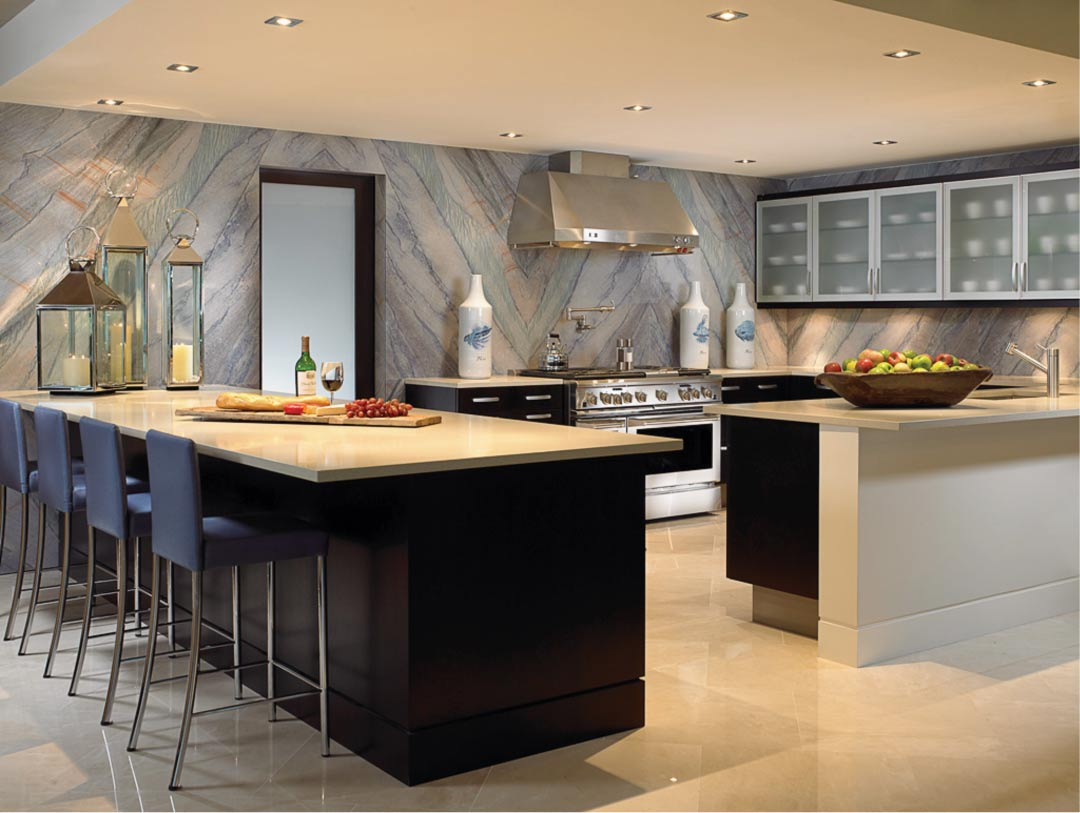 the power of wallpaper in the kitchen wma property
