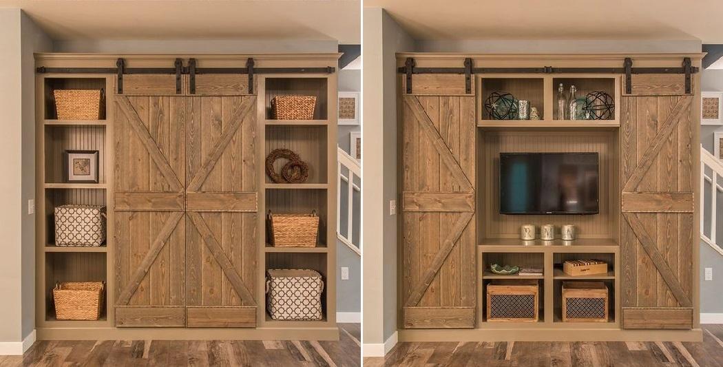 Hide The TV Behind The Barn Door 2 | WMA Property