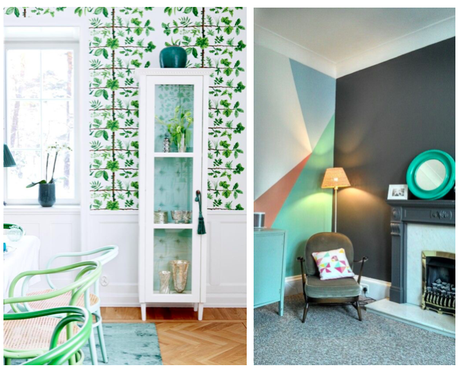 Wall Paper Or Paint wall paper vs paint - home design