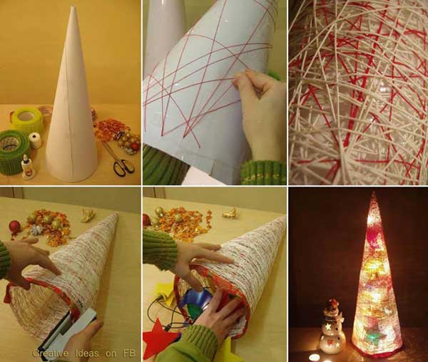 The 15 Simple And Affordable Christmas Decoration DIY 1