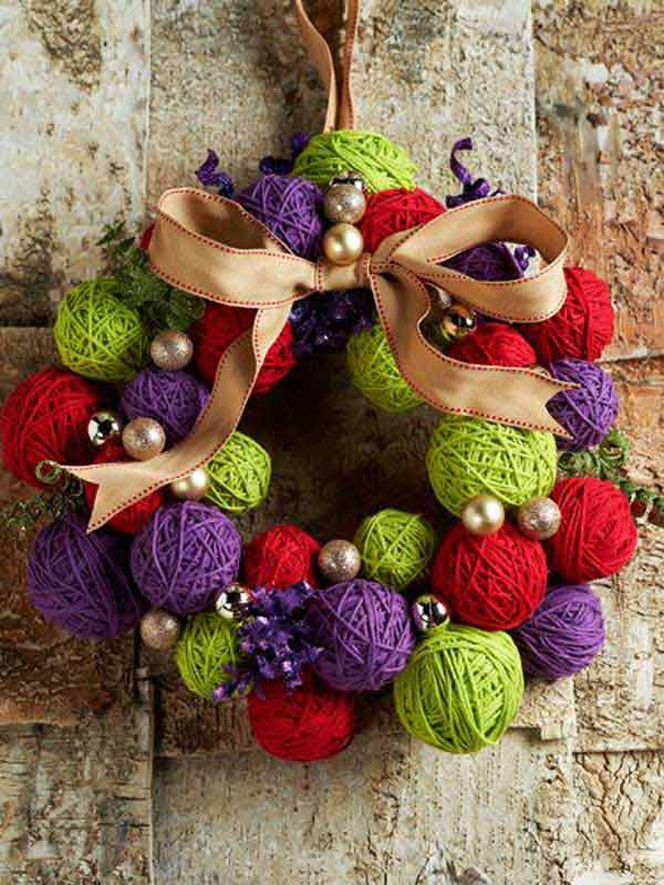 The 15 Simple And Affordable Christmas Decoration DIY 10
