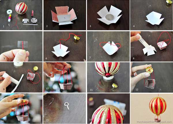 The 15 Simple And Affordable Christmas Decoration DIY 16