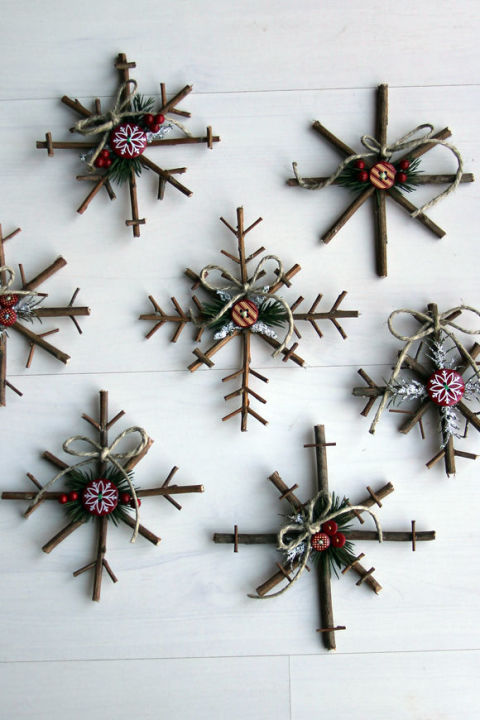 Christmas Craft Ornament Ideas Part - 19: 20-creative-diy-christmas-ornament-ideas-2